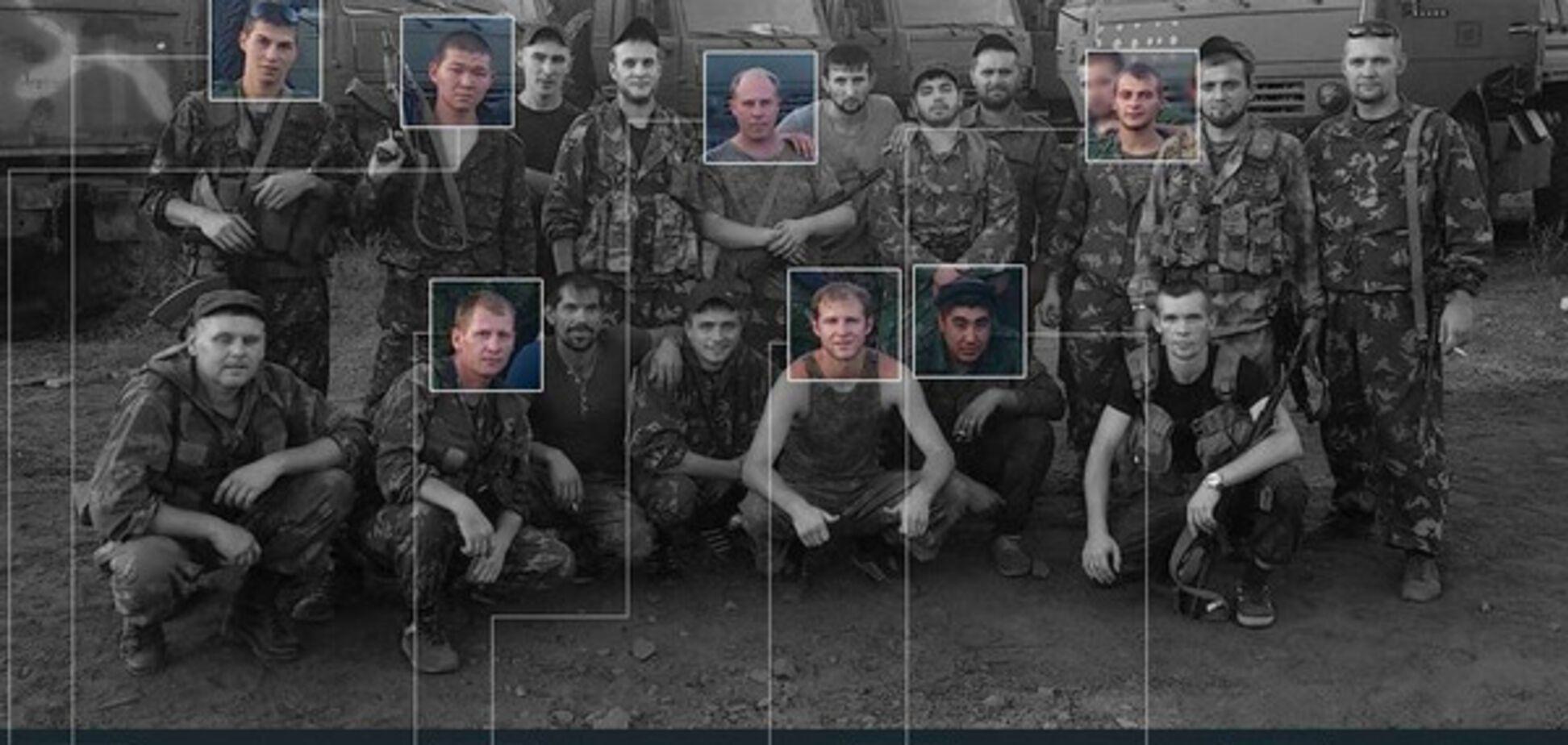 Опознаны шестеро российских оккупантов, воевавших на Донбассе: появились фото