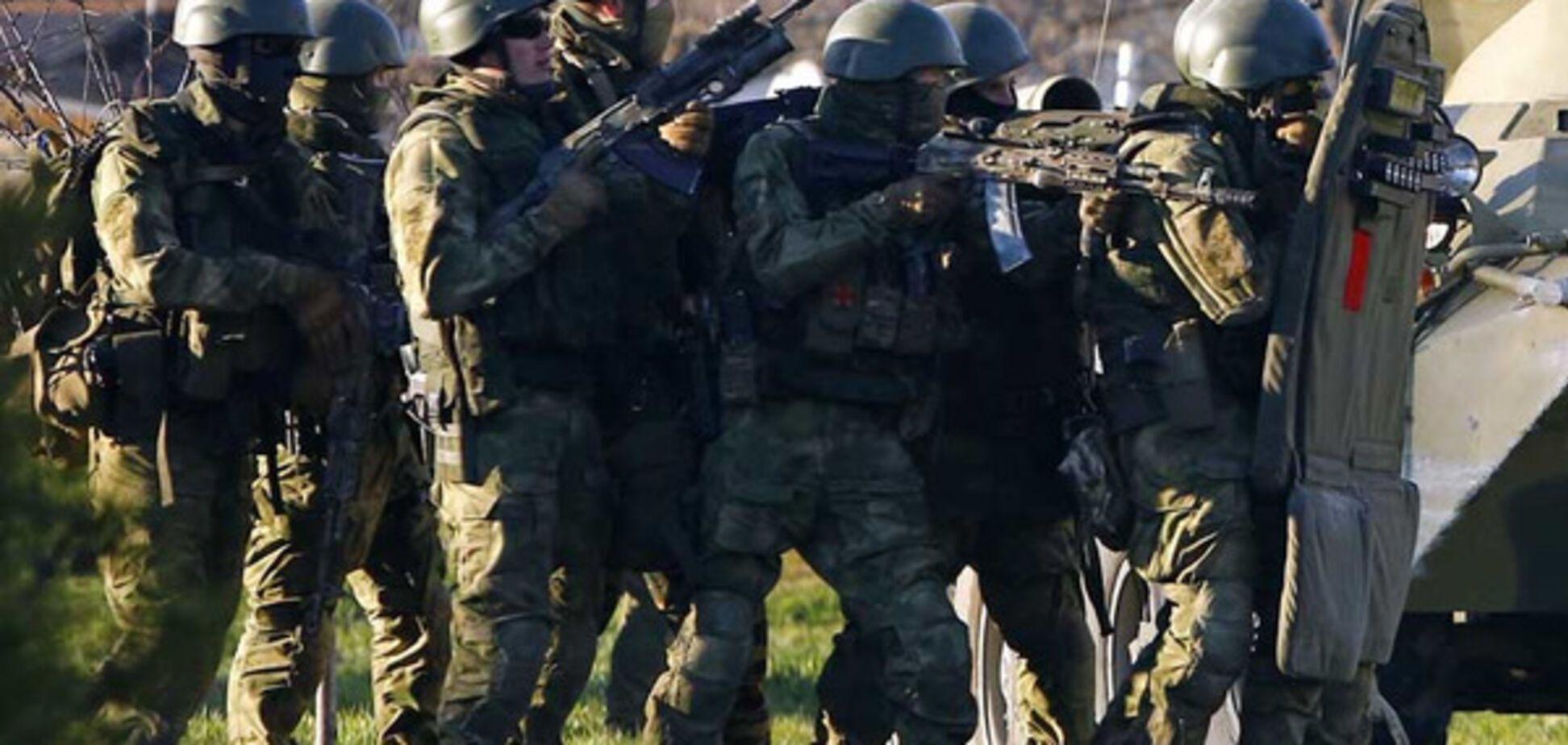 аннексия крыма военные