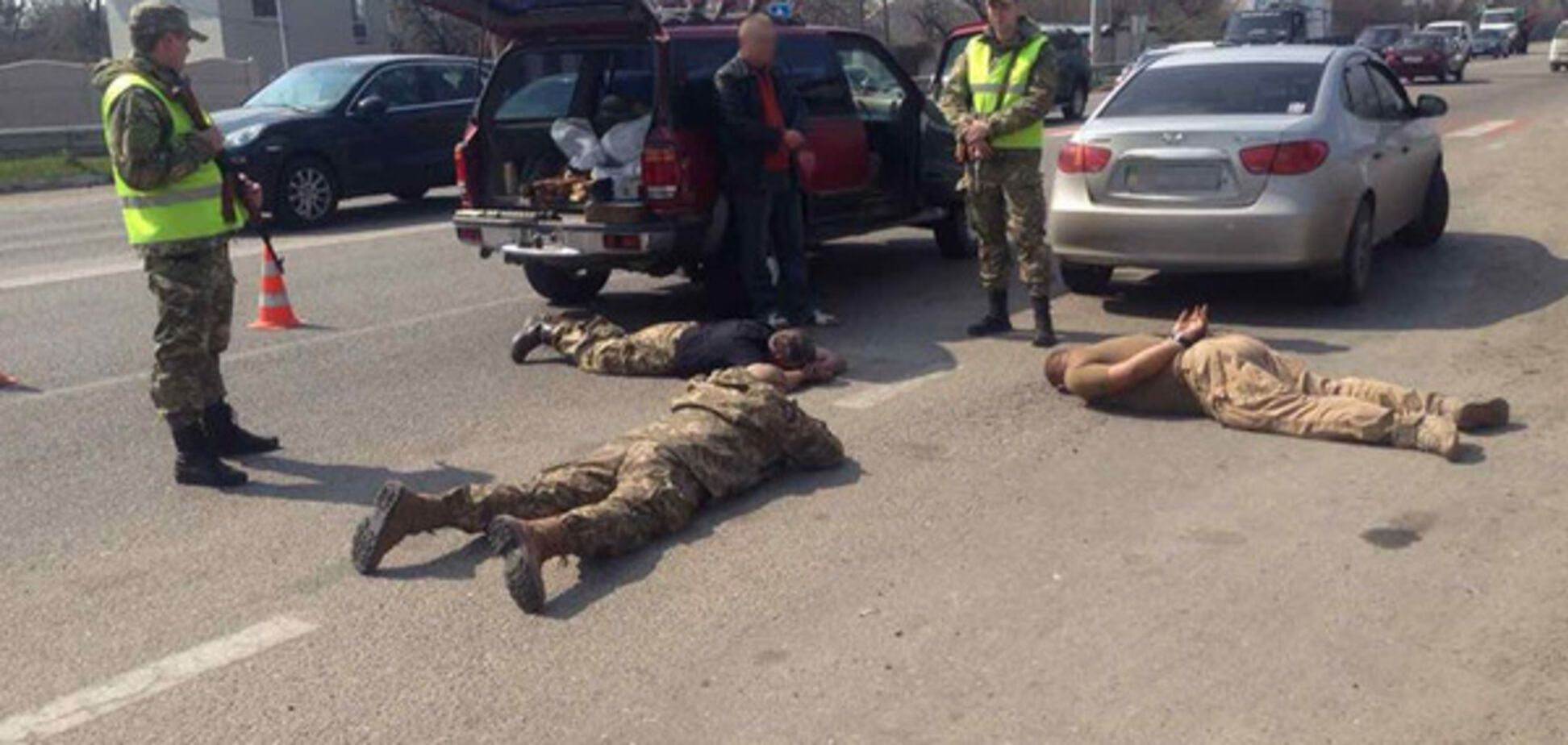 Задержание на Харьковщине