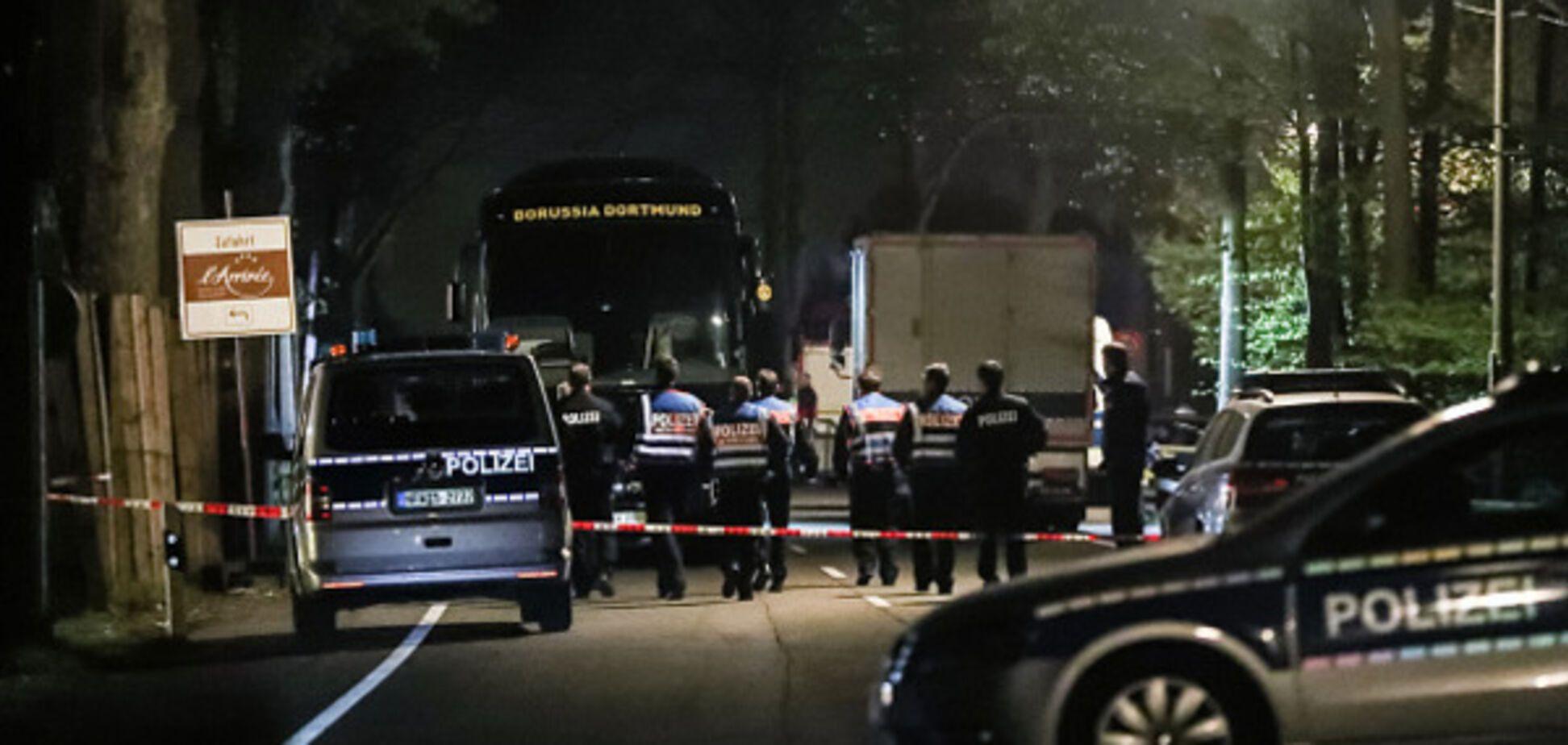 Автобус Боруссии взрыв