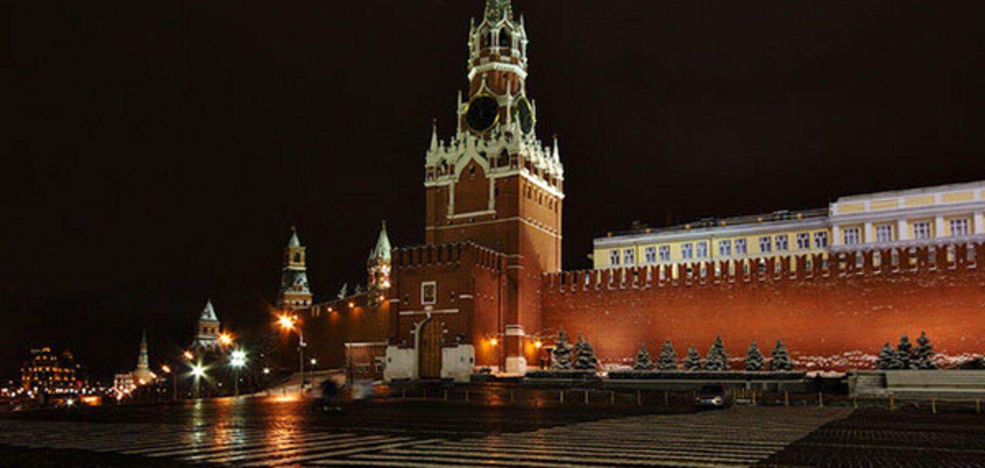 кремль ночь