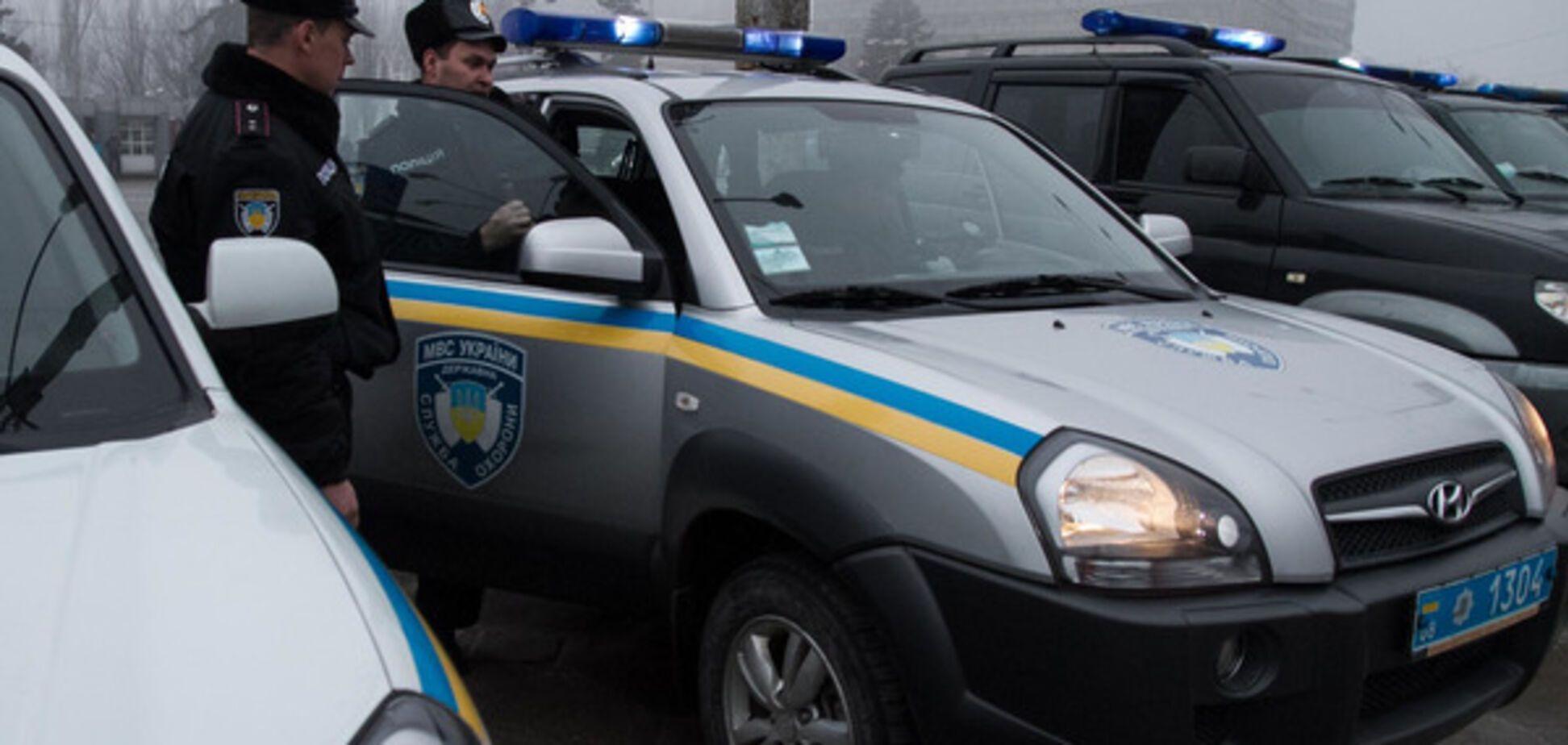 Hyundai Tucson полиции