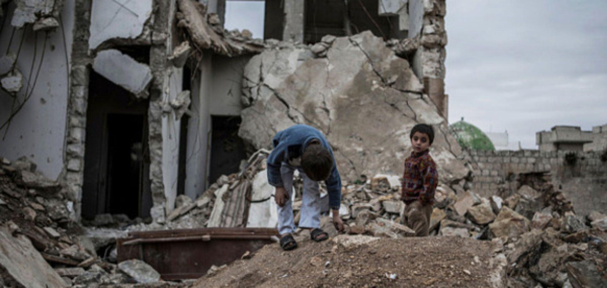 Діти в Сирії