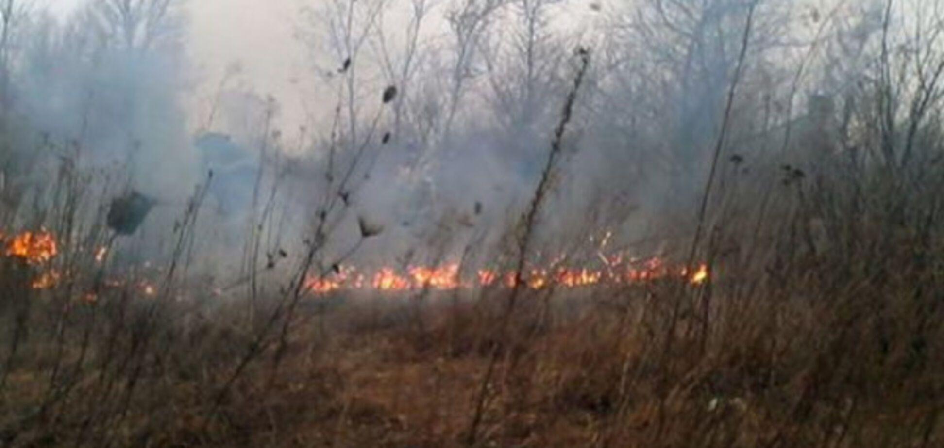 Последние 24 часа в области запомнились массовыми пожарами