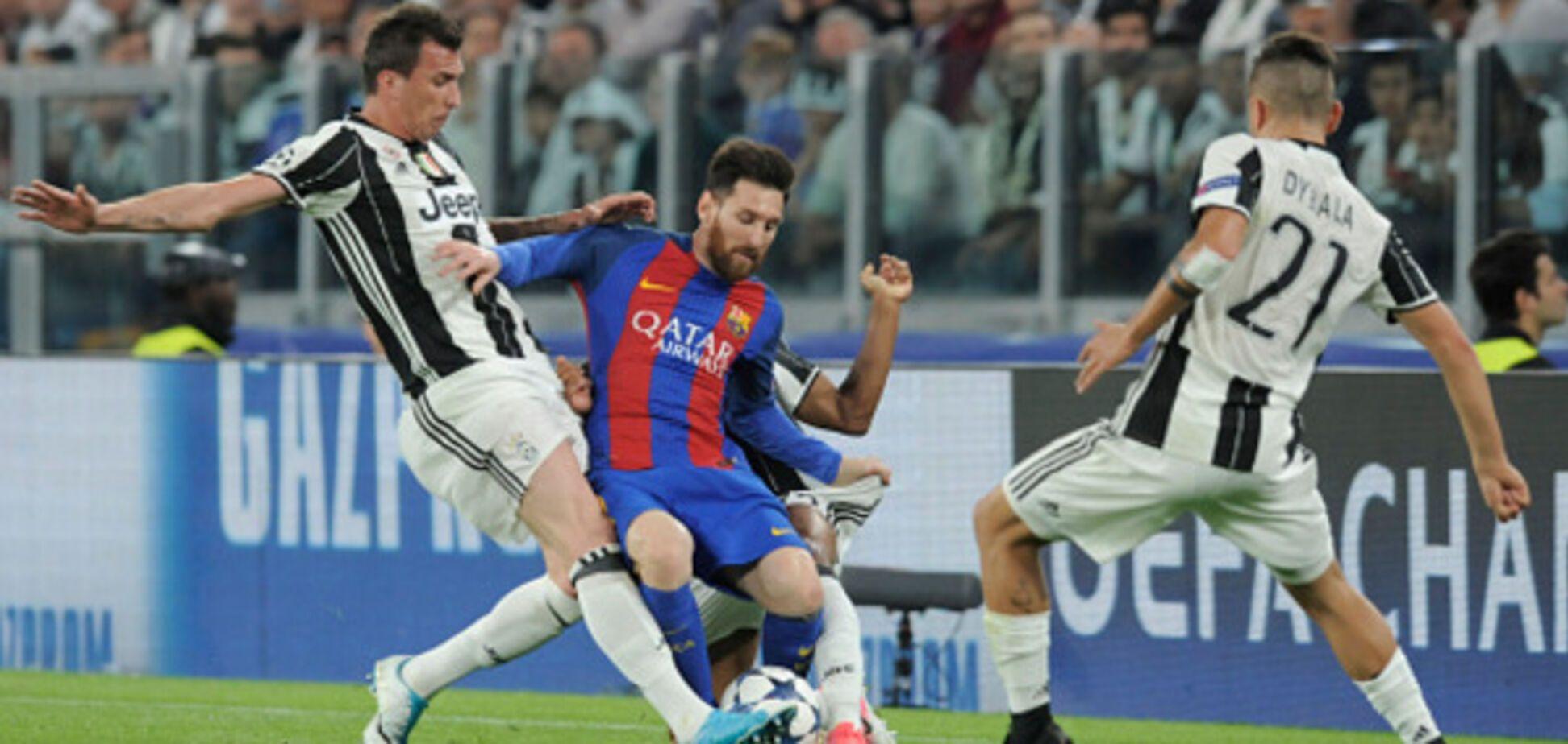 Барселона Ювентус онлайн