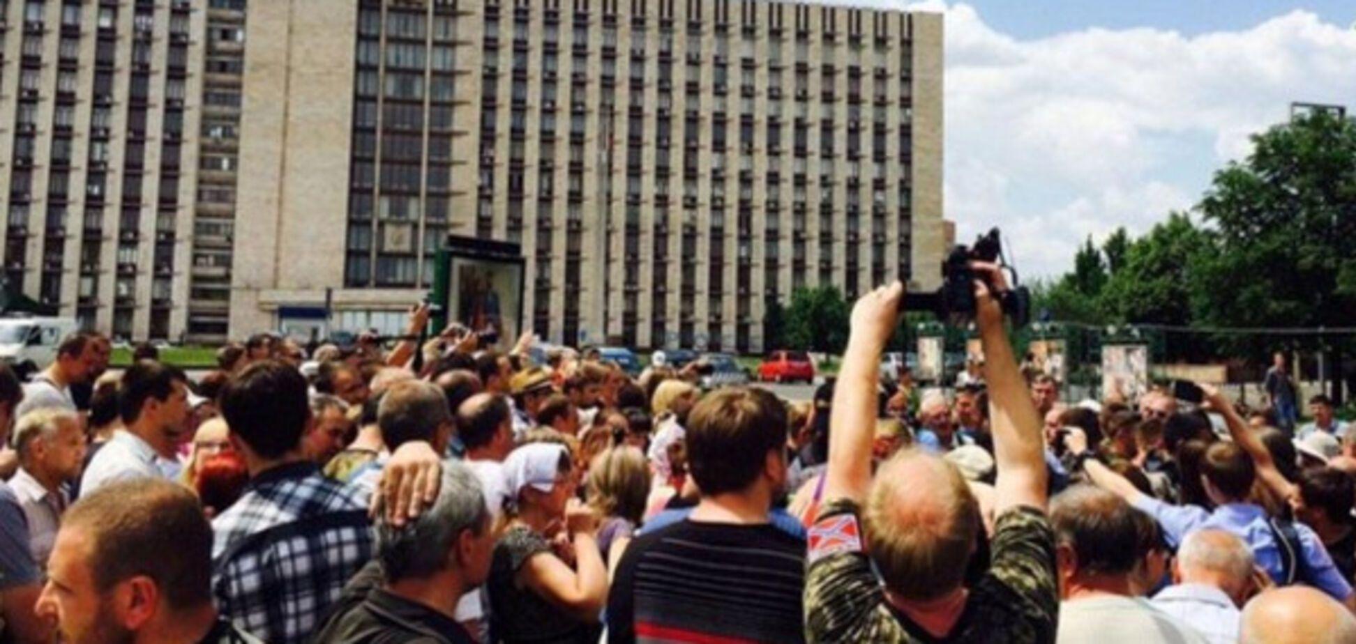 Бунты в Донецке