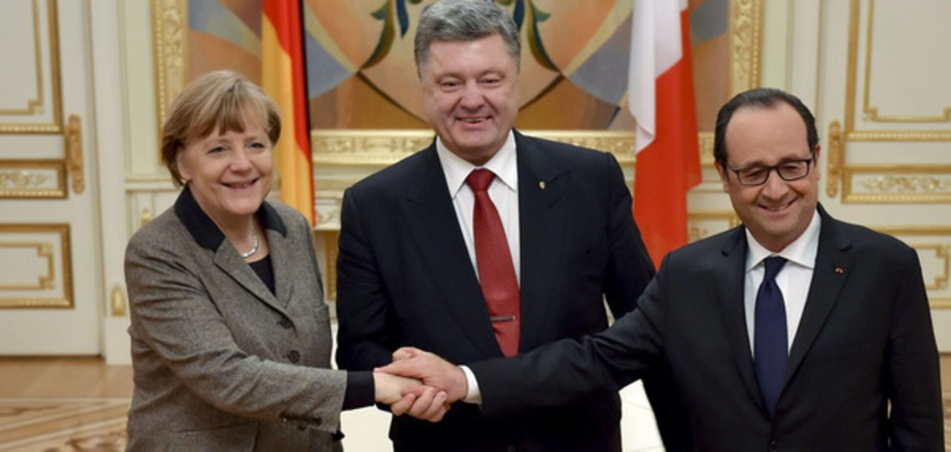 Порошенко, Меркель, Оланд, нормандська четвірка