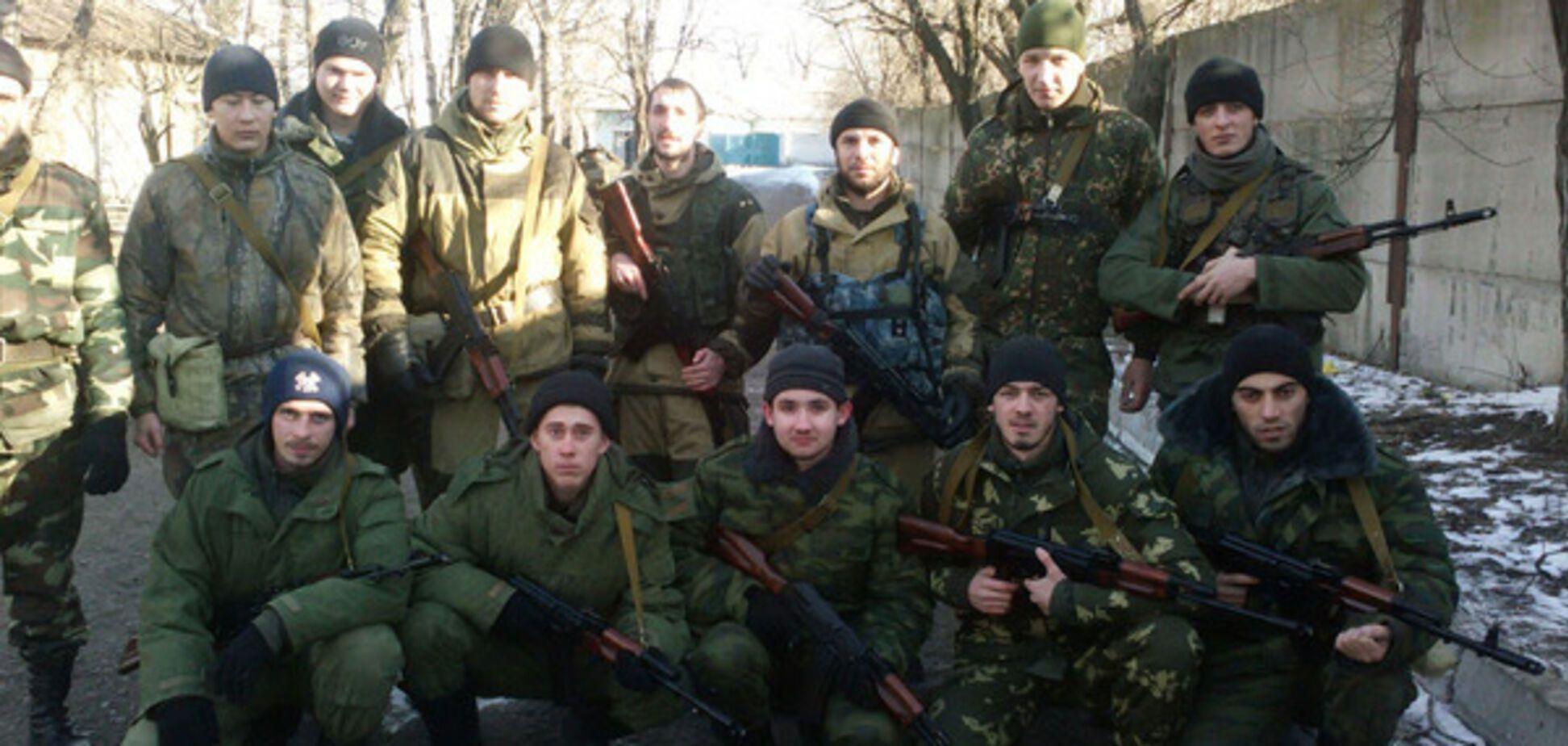 Военные РФ на Донбассе