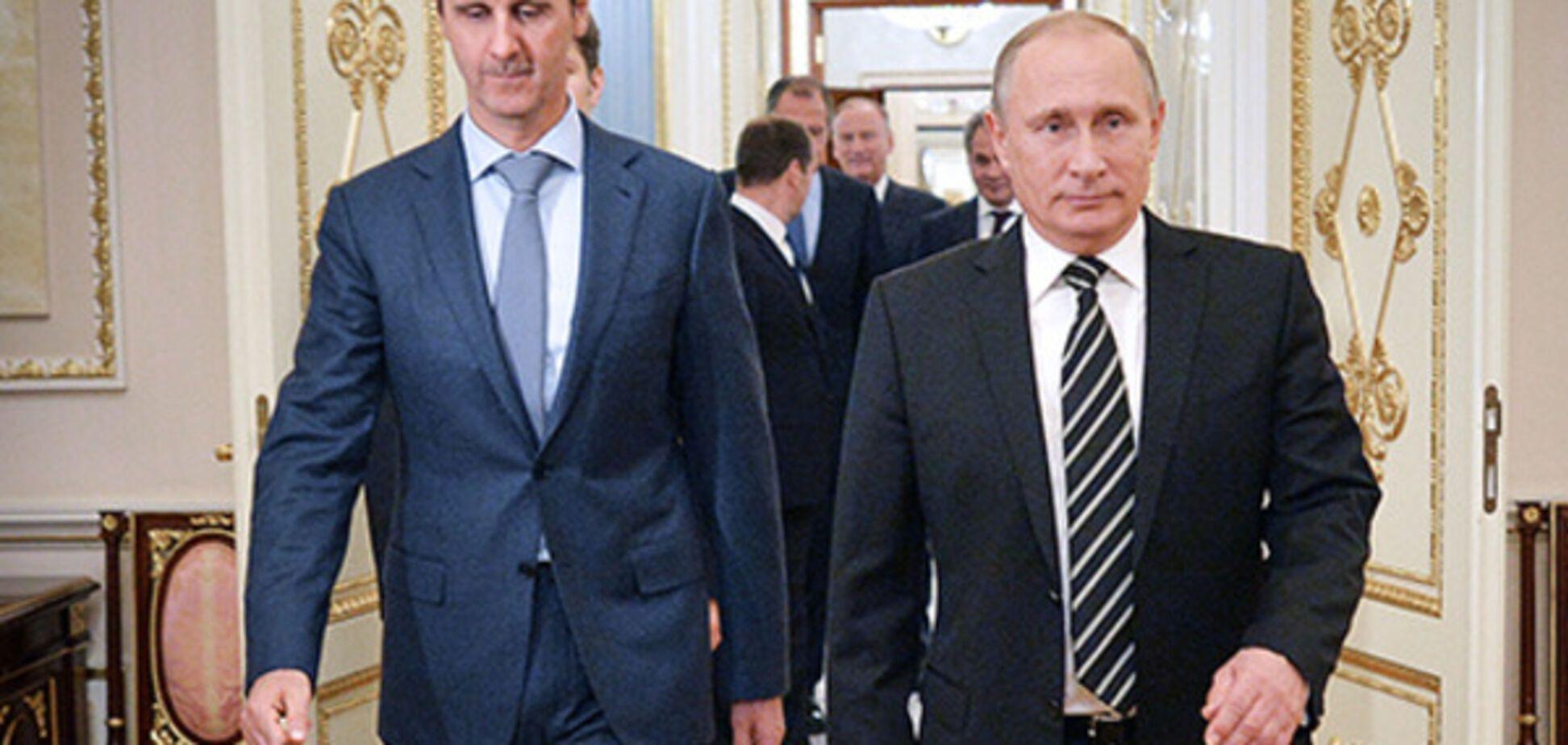 Лицензия на ликвидацию Асада и Путина