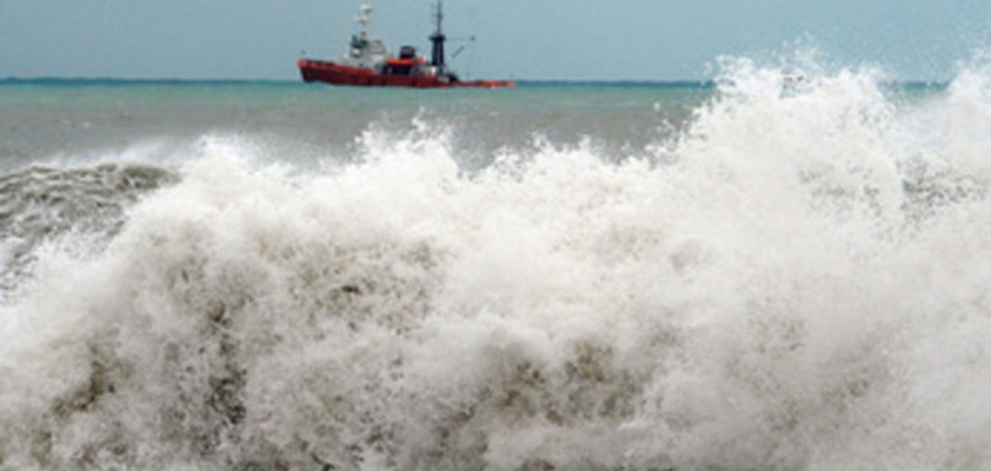 Возле Керчи затонуло судно