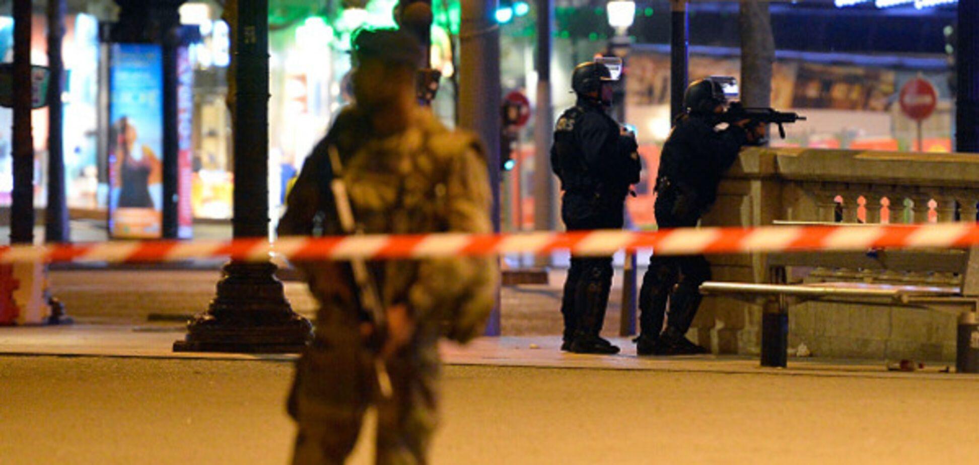 В центре Парижа произошла стрельба