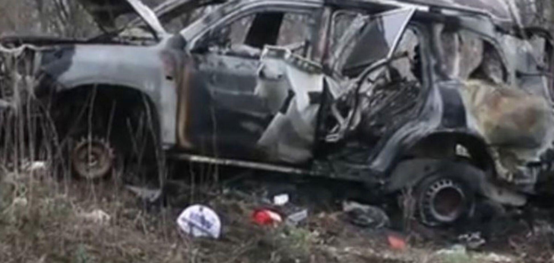 Взрыв автомобиля ОБСЕ