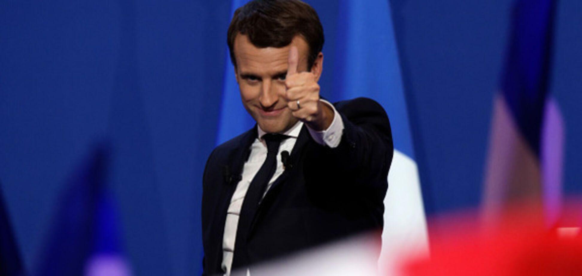 Знакомьтесь, будущий президент Франции, или 2:0 в пользу Украины