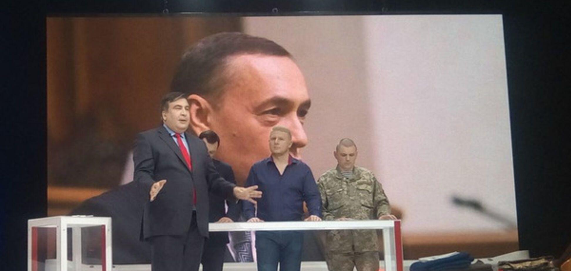 Саакашвили нас считает за ло*ов?