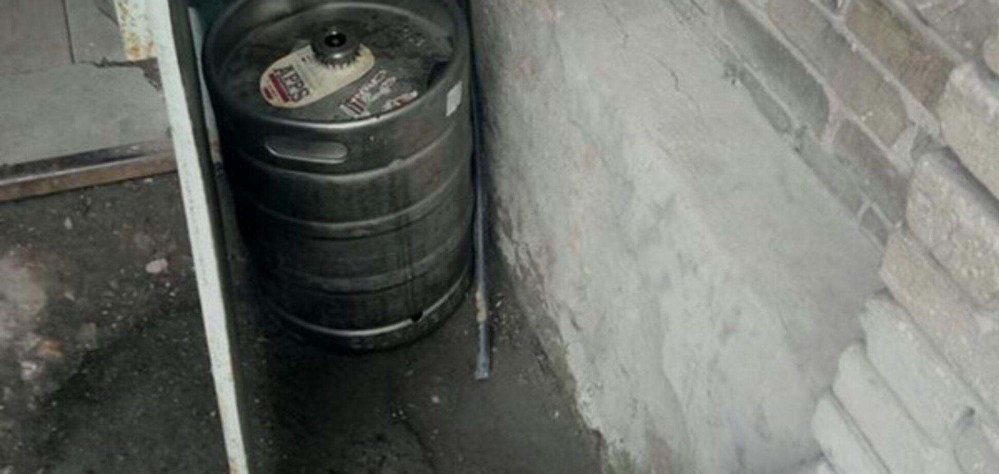 Запорожец, подозреваемый в краже, напал на копов с ножом (ФОТО)