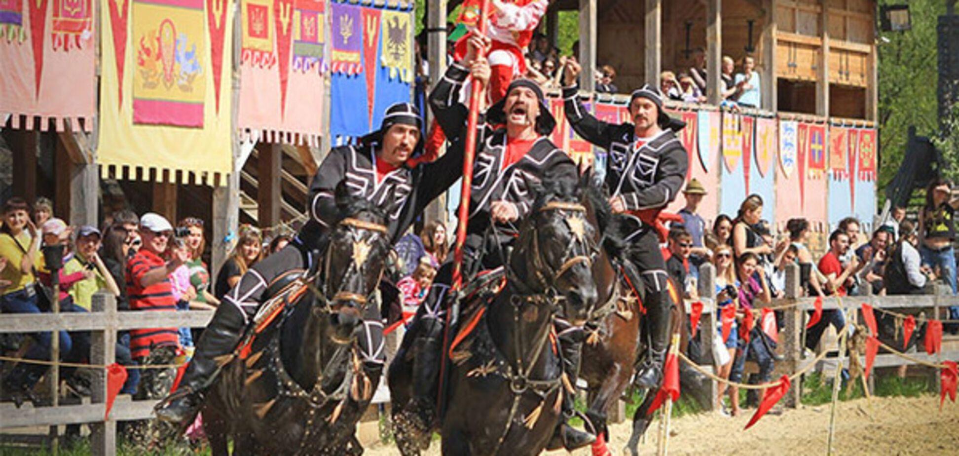 Под Киевом будут соревноваться конные каскадеры