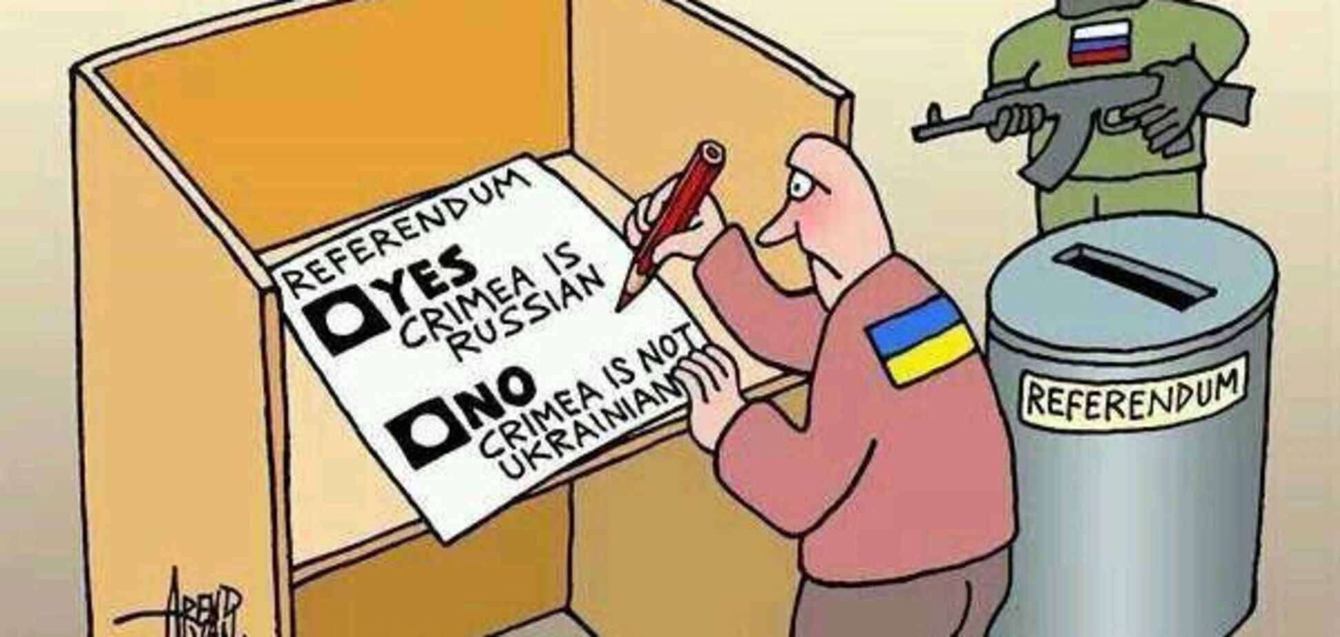 референдум крым карикатура