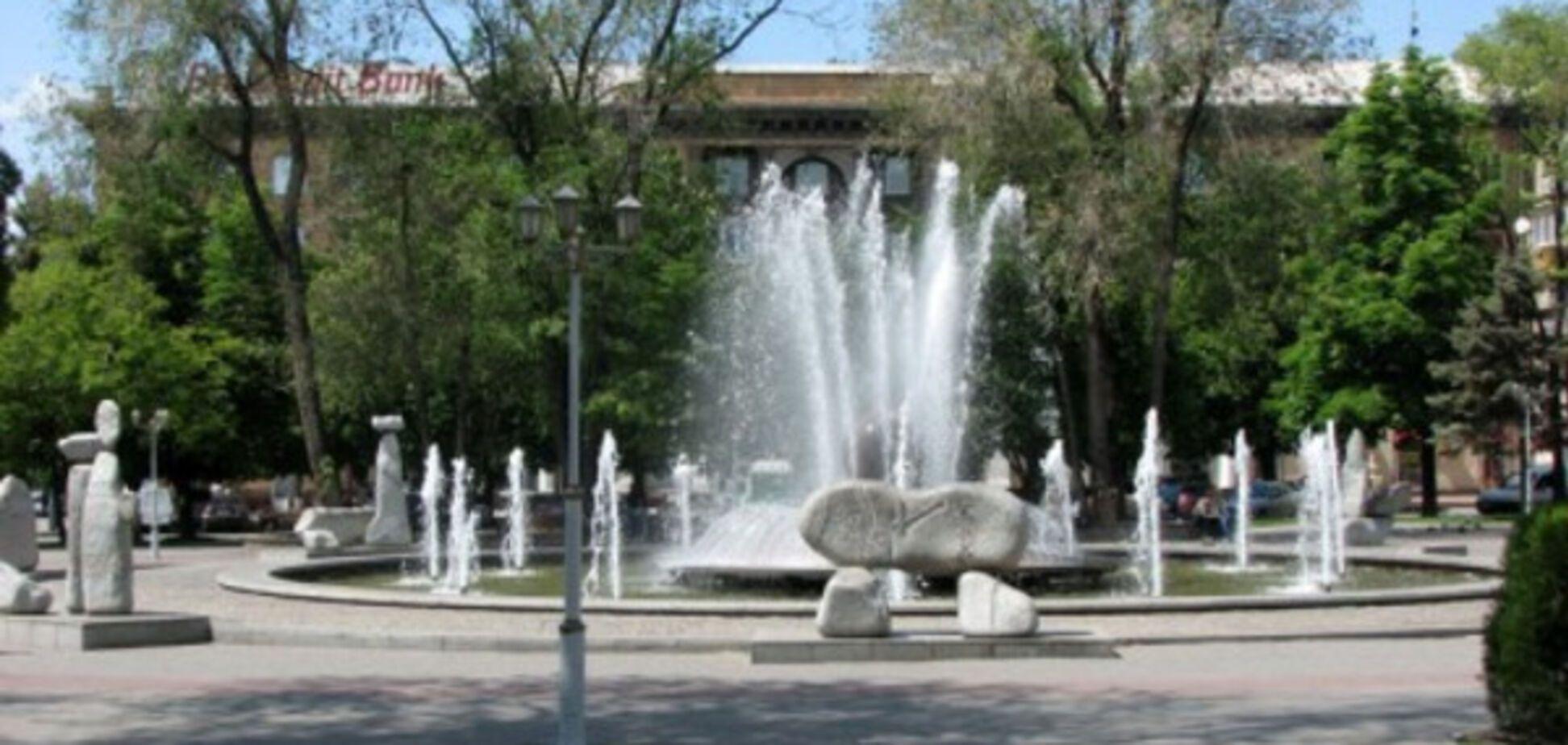 Запорожцев начали радовать городские фонтаны