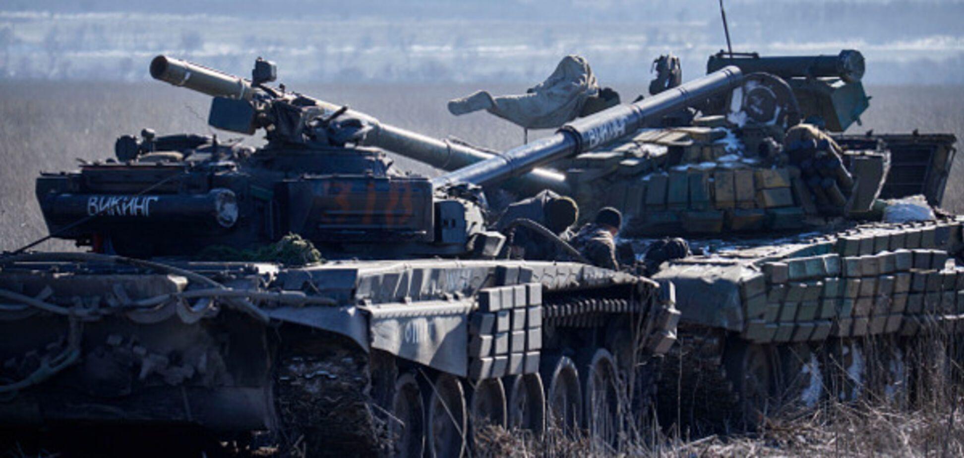 війна донбас танк