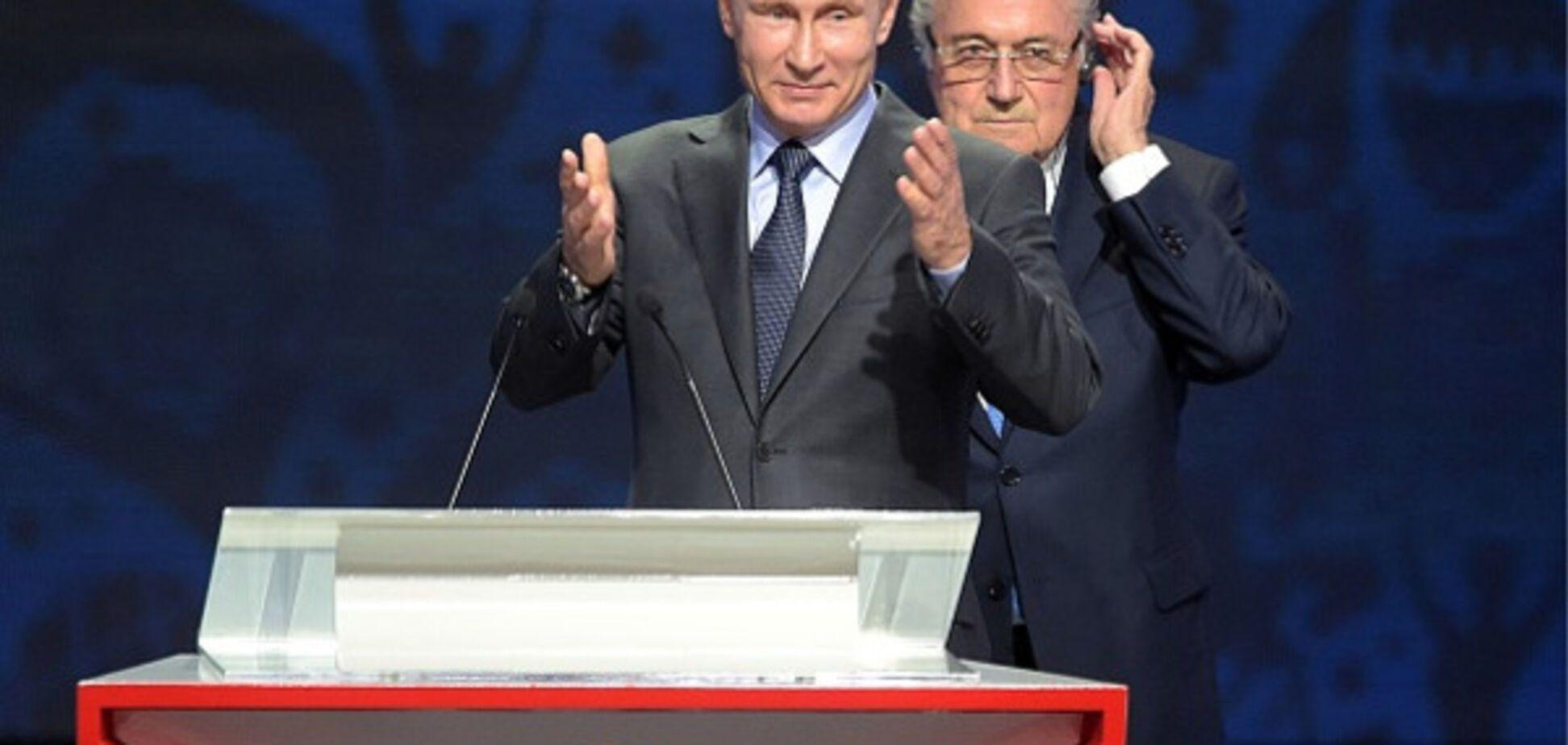 Путин Блаттер