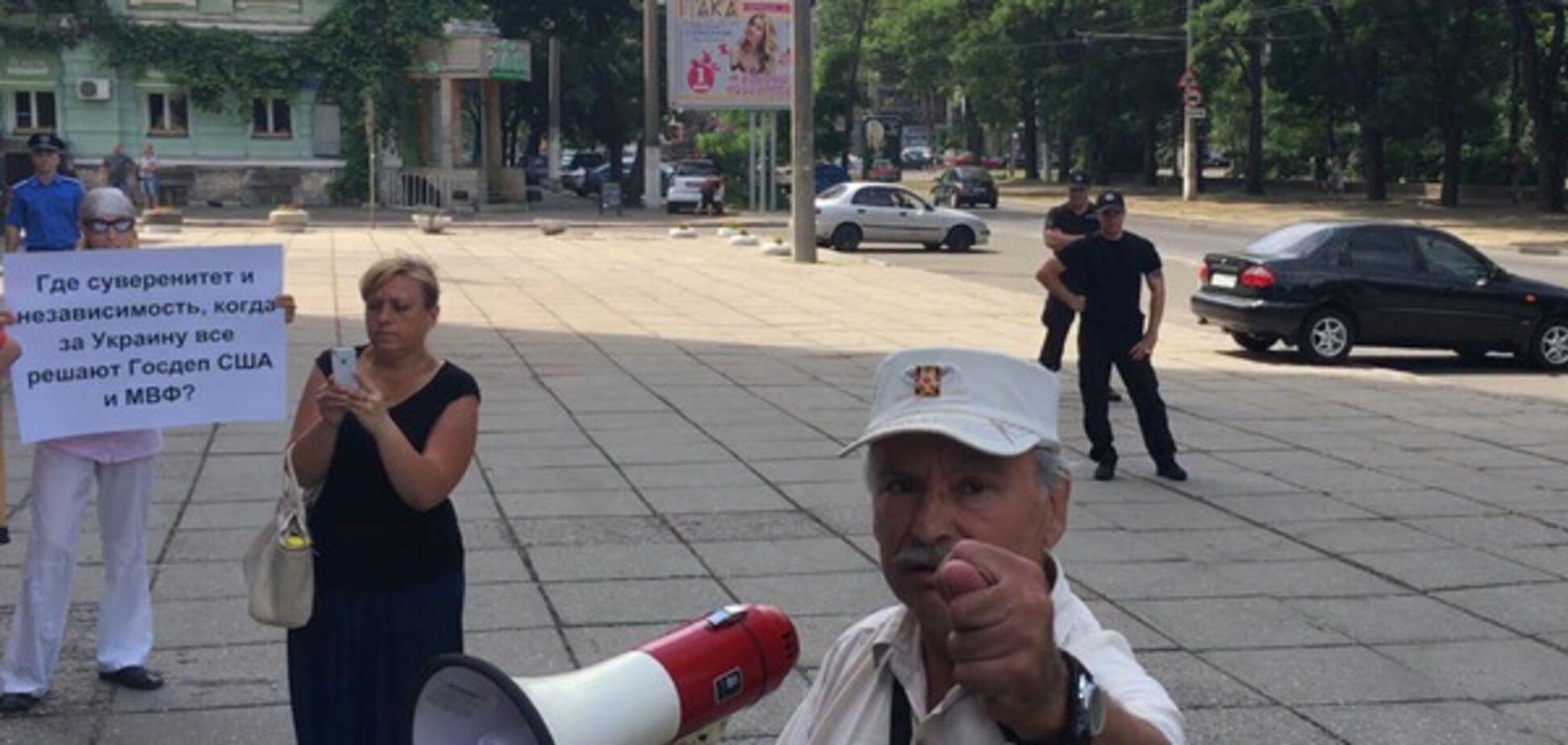 Сепаратист в Одесі