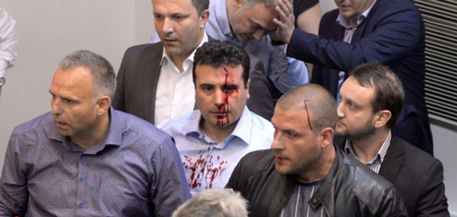 Штурм парламенту Македонії