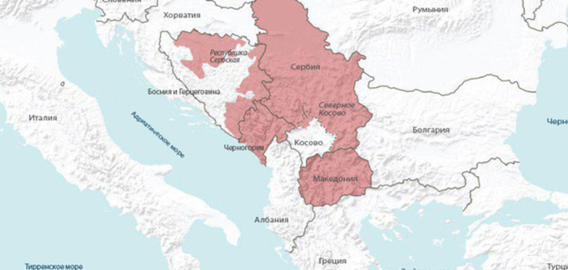 Stratfor: Росія взялася за підрив Балканів за кримським сценарієм