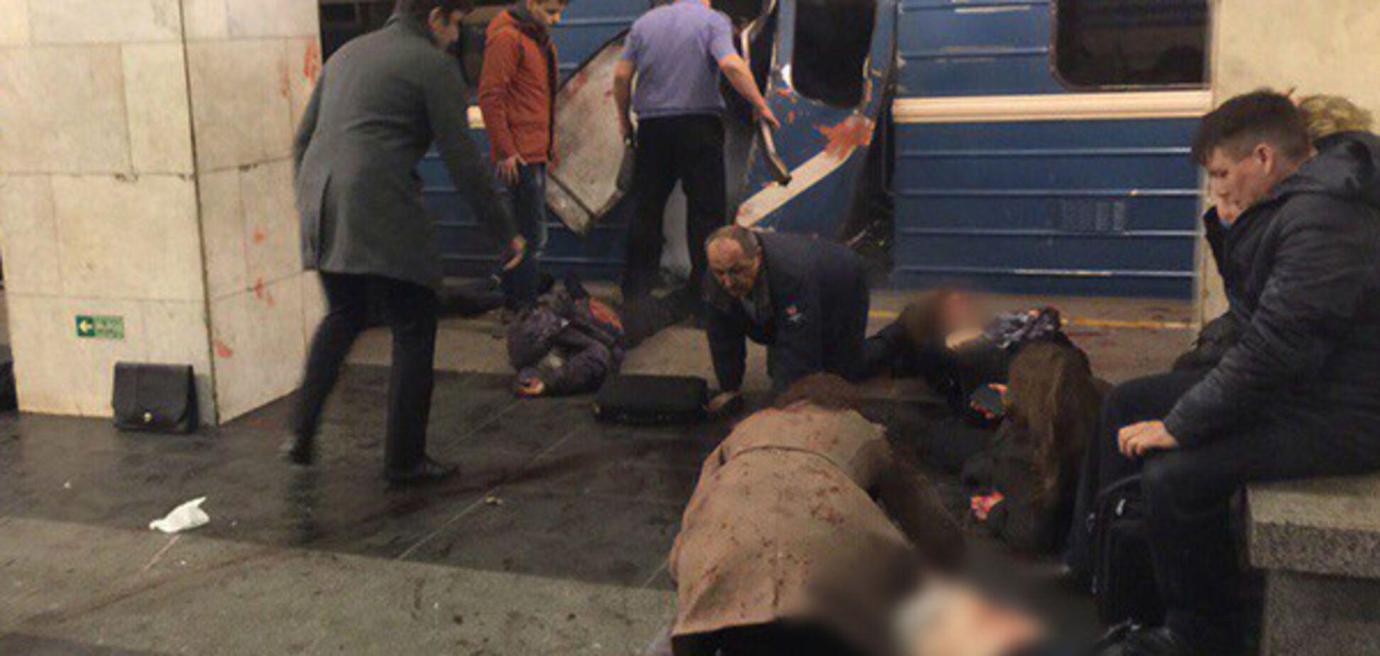 Взрыв метро Петербург