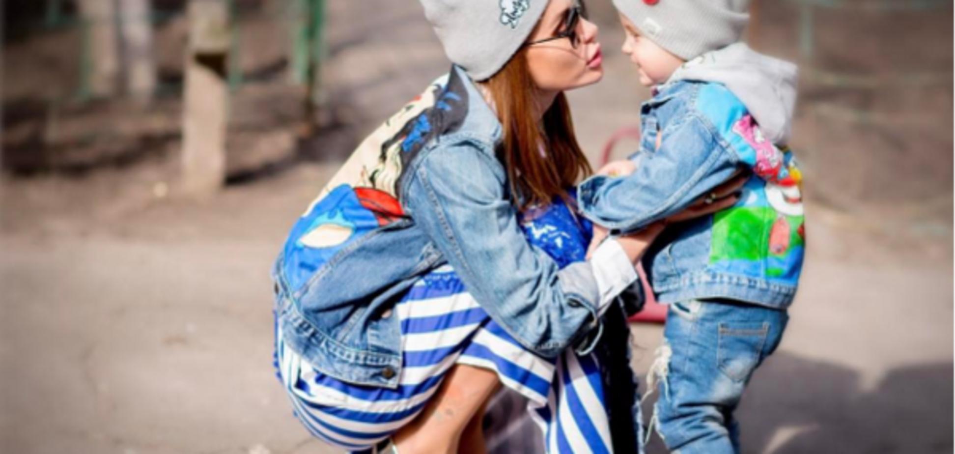 Весна прийшла: зіркові мами на прогулянці з дітьми