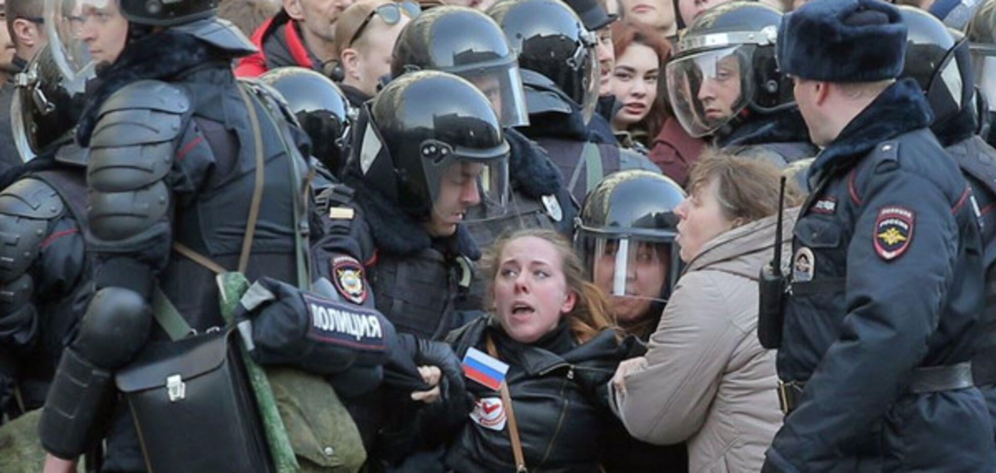 РосТВ промовчати про масштабні затримання в Москві