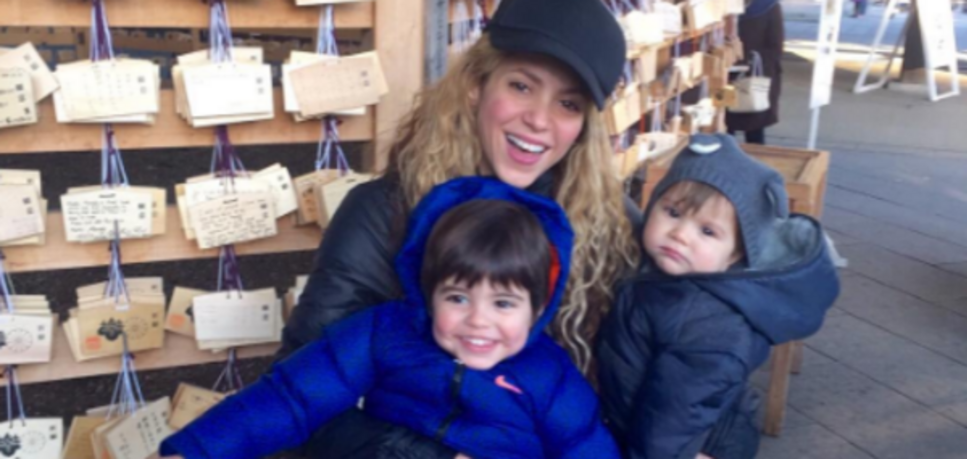 Шакира похвасталась спортивными достижениями младшего сына