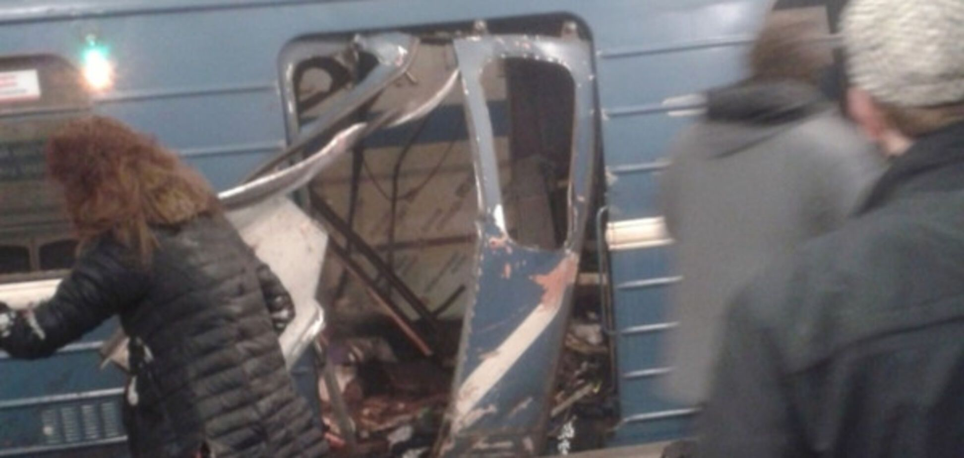 Теракт в метро Петергбурга
