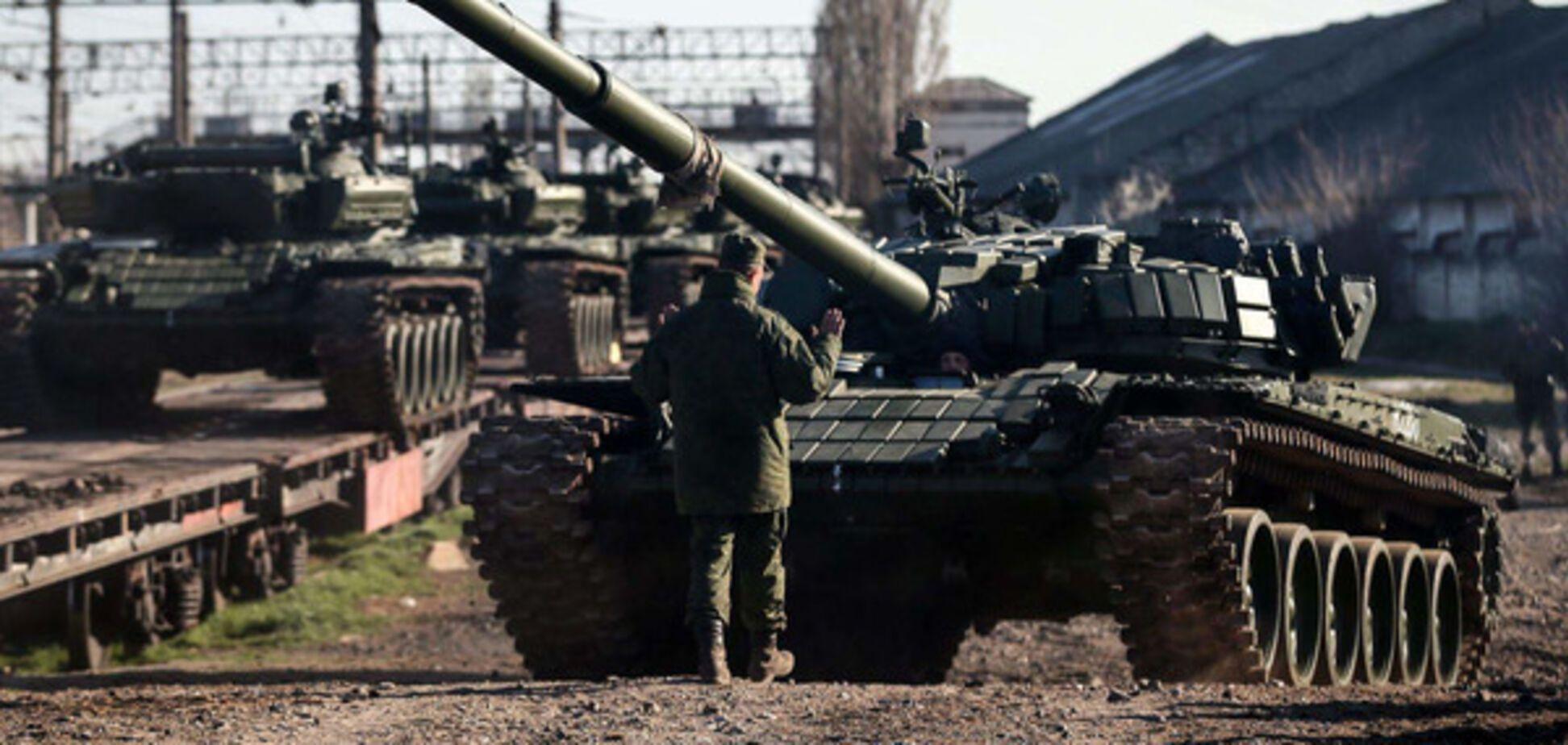 Войска РФ на границе с Украиной