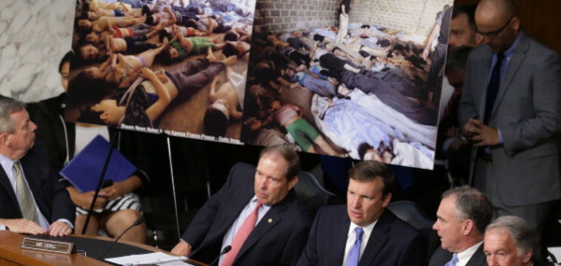 хімічна зброя, Сирія, атака, Асад