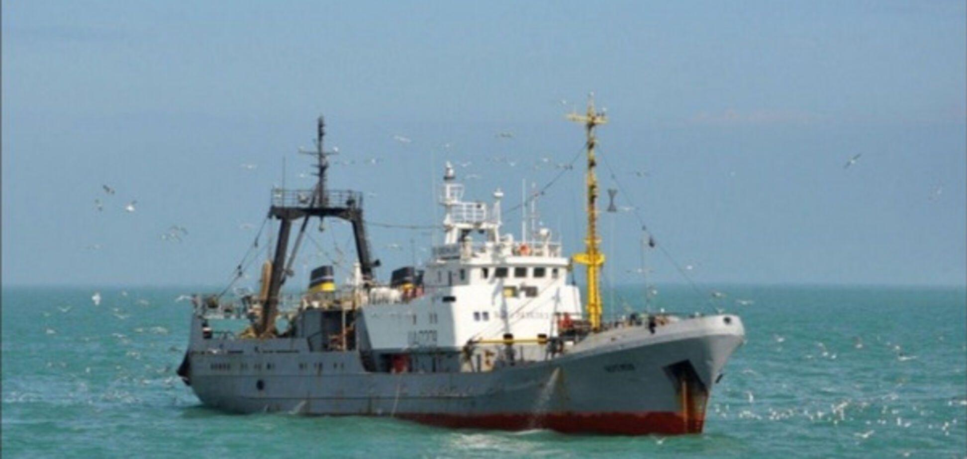 Корабль в Крыму