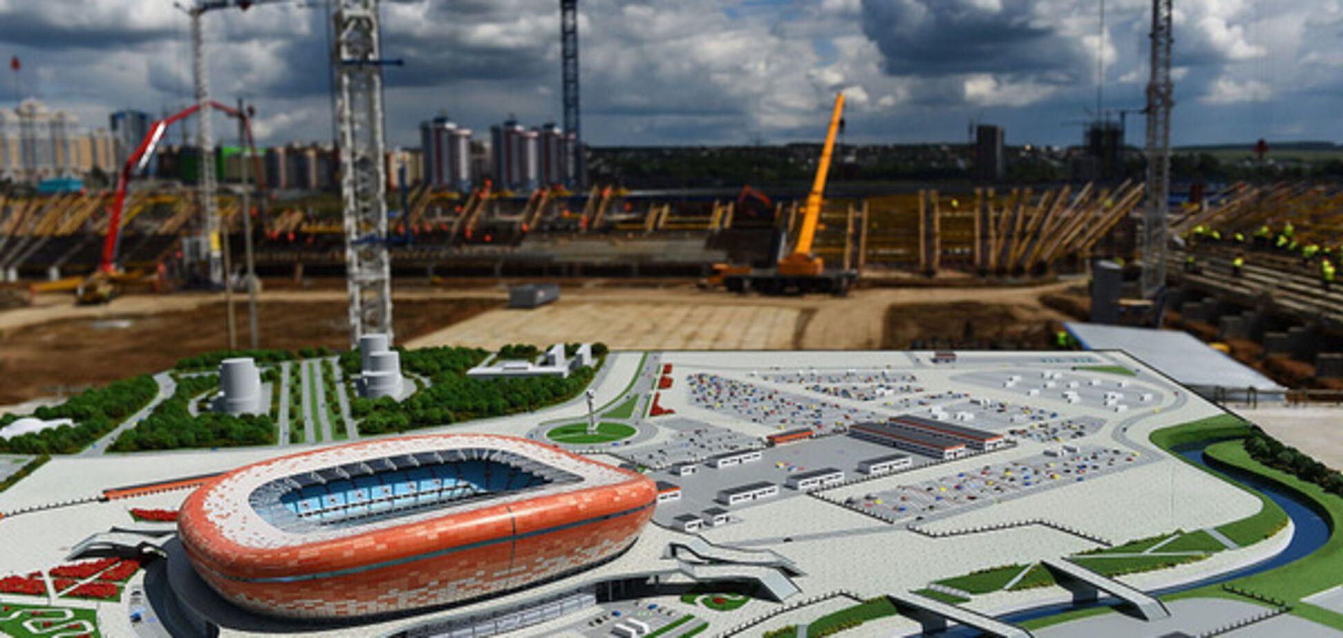стадион 2018 Саранск