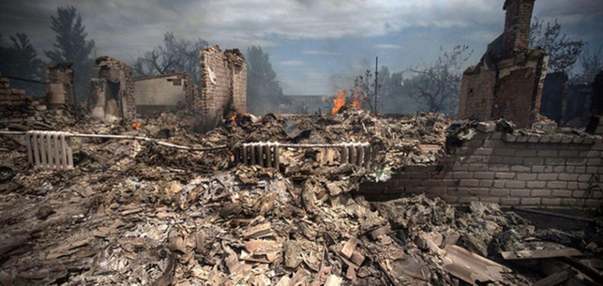 Терористи обстрілюють Донбас