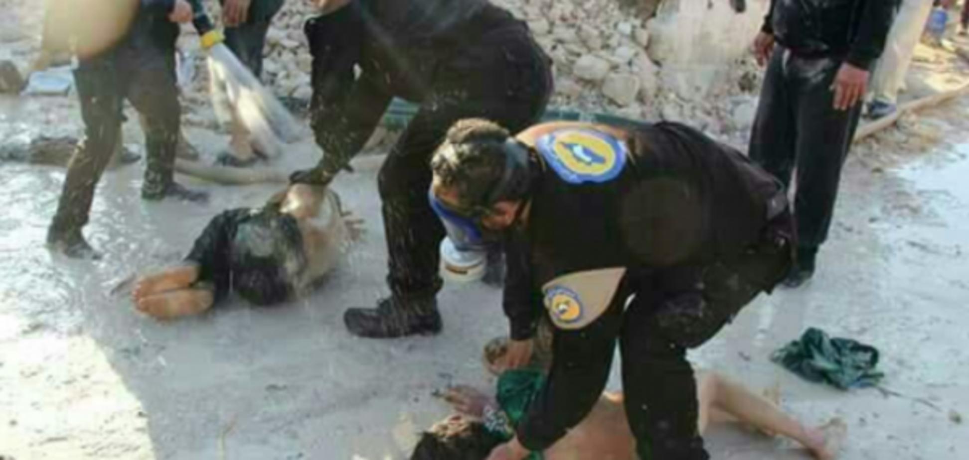 В Сирии 27 детей погибли во время химатаки