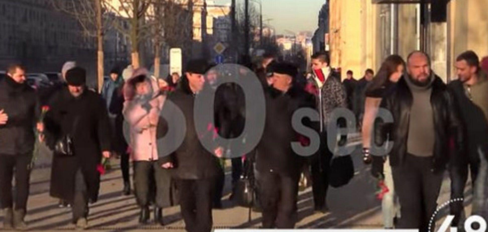 Кремлевская массовка на митингах