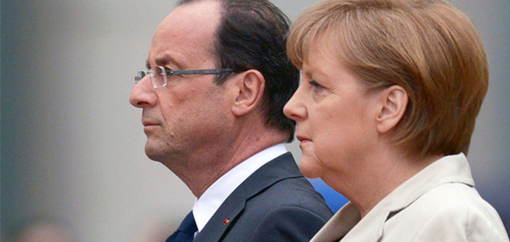 Олланд і Меркель