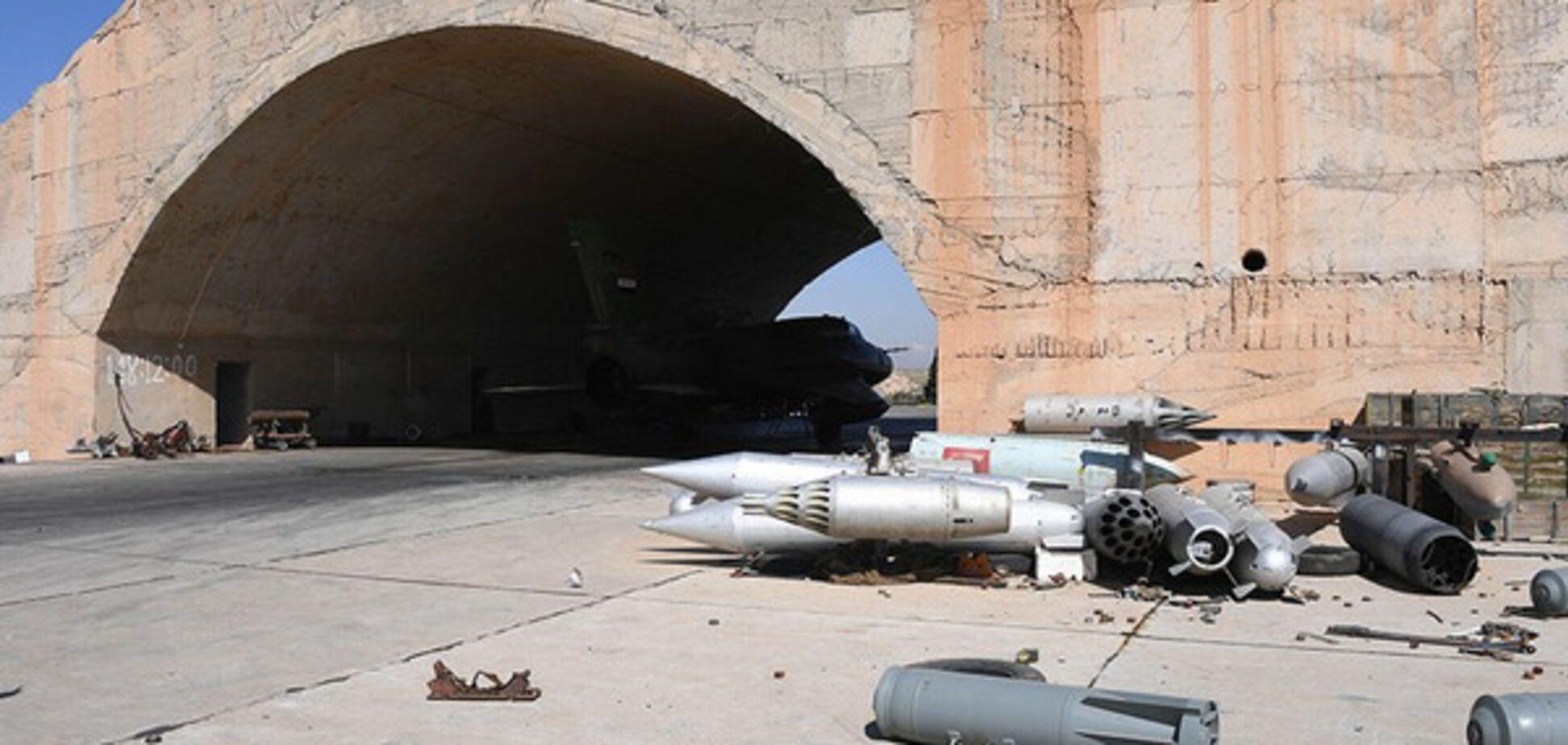 Российское фото авиабазы в Хомсе