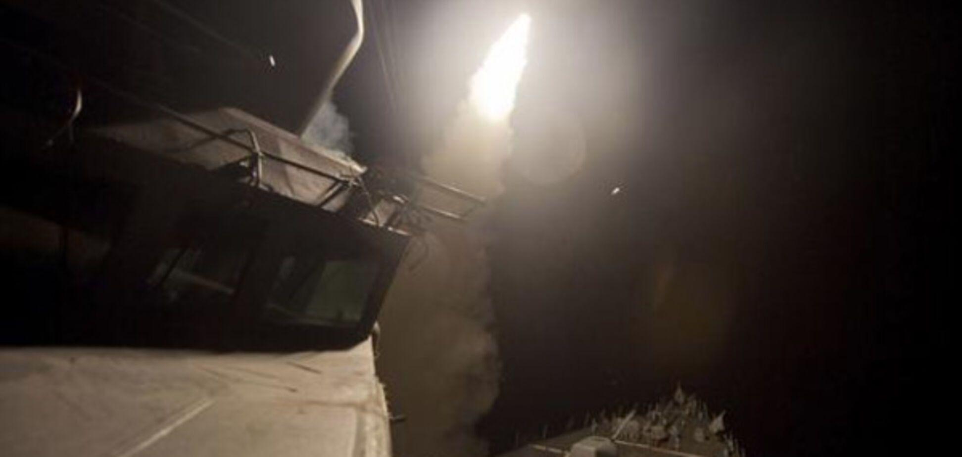 США томагавк Сирія