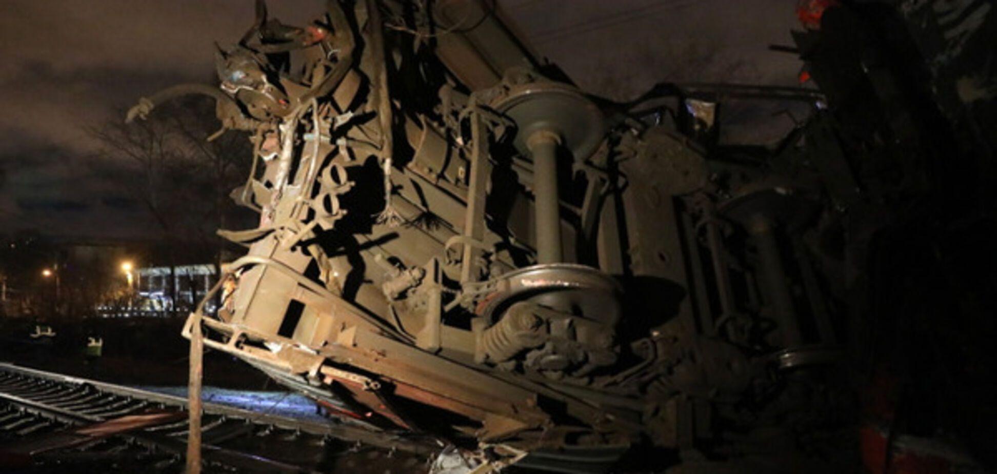 У Москві сталася велика аварія на залізниці: всі подробиці, фото і відео