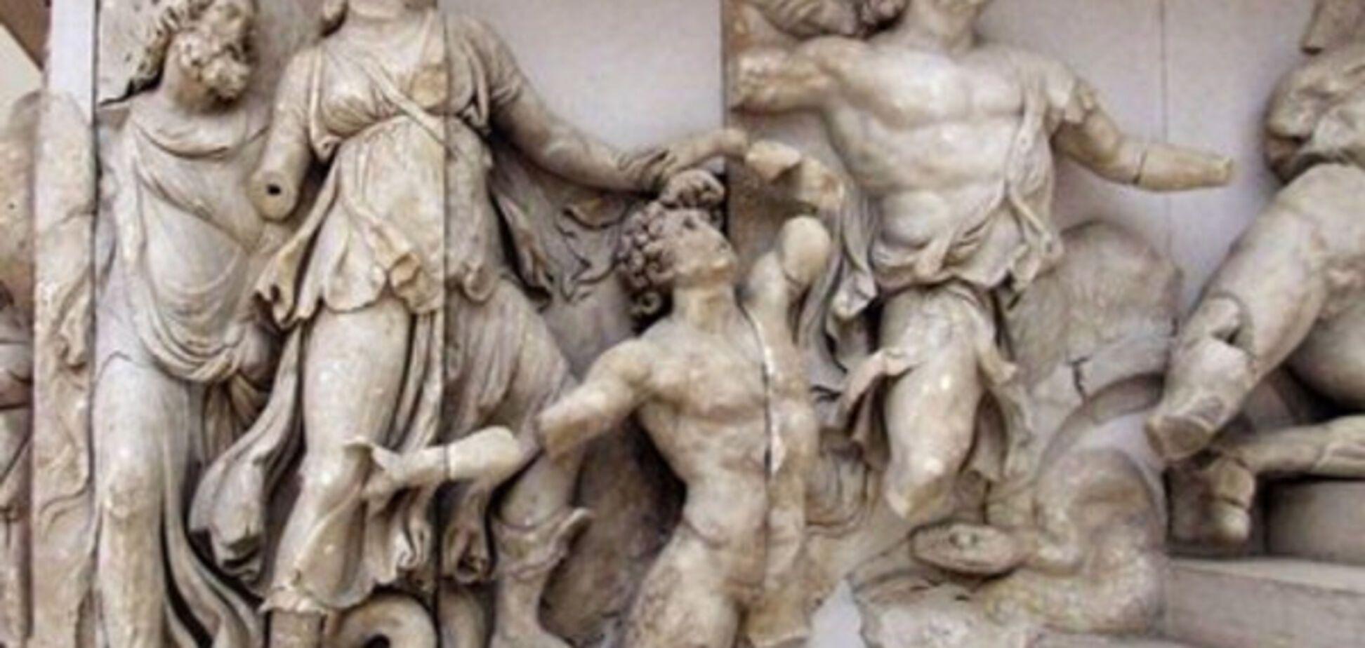 Скульптура, Давня Греція
