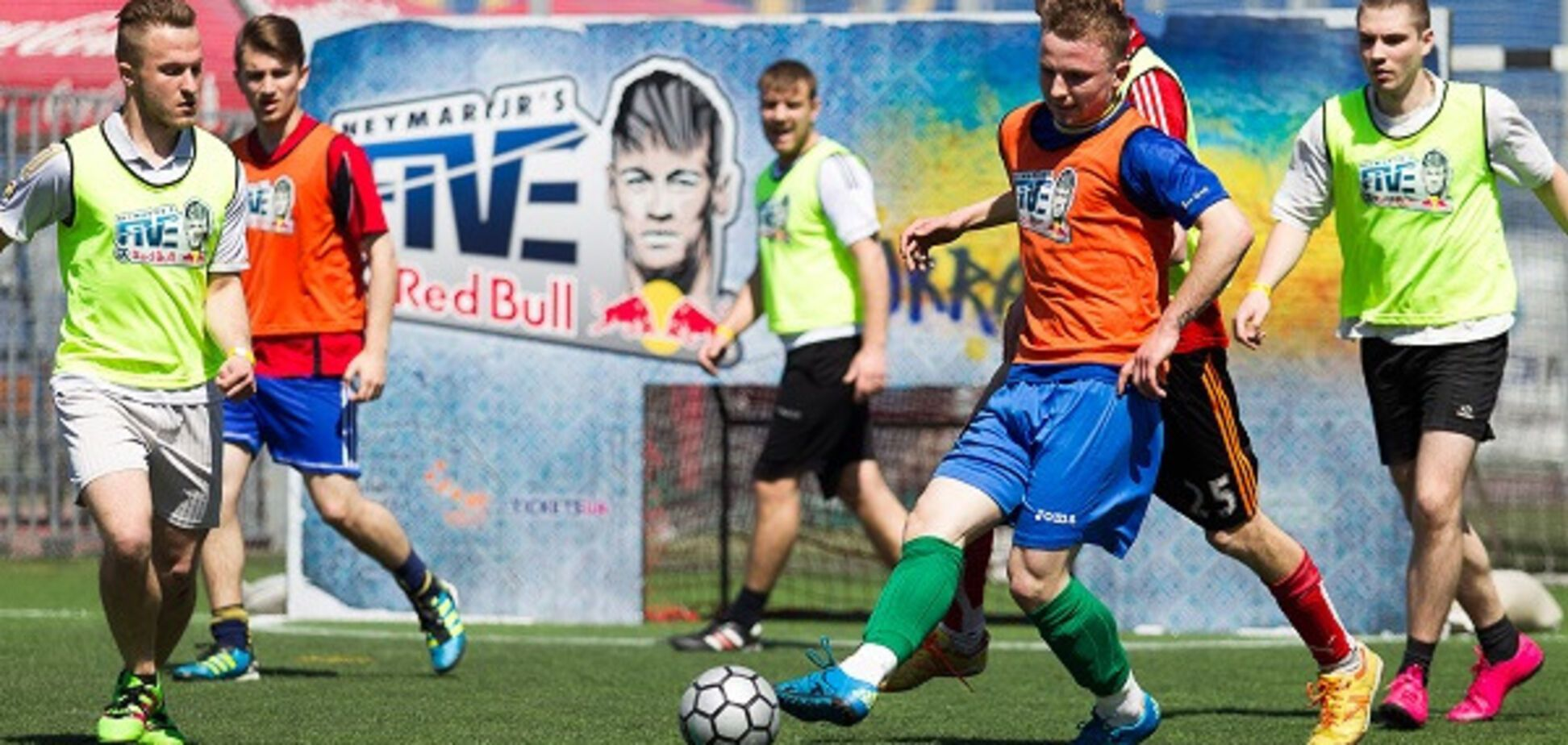 В Харькове состоялся отборочный турнир чемпионата Neymar Jr's Five