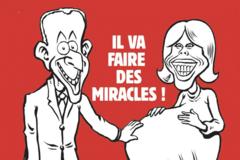 Карикатура на Макрона