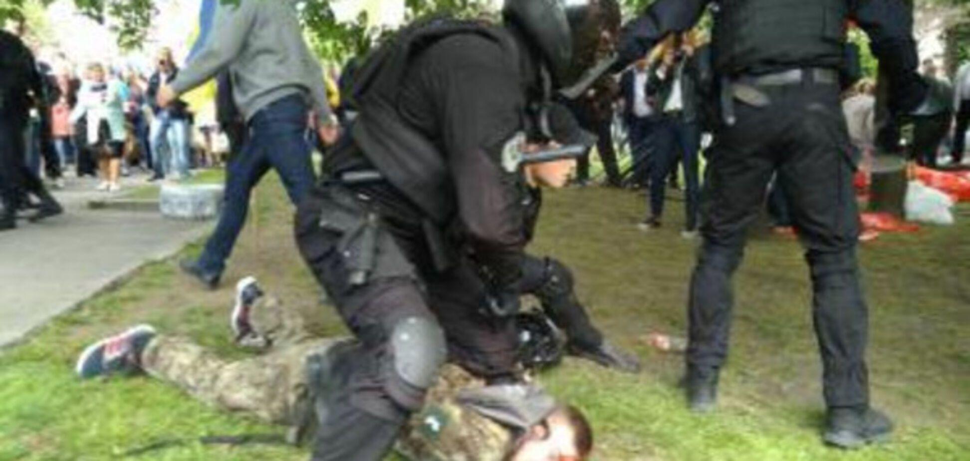 побиття ветеранів АТО, Дніпро