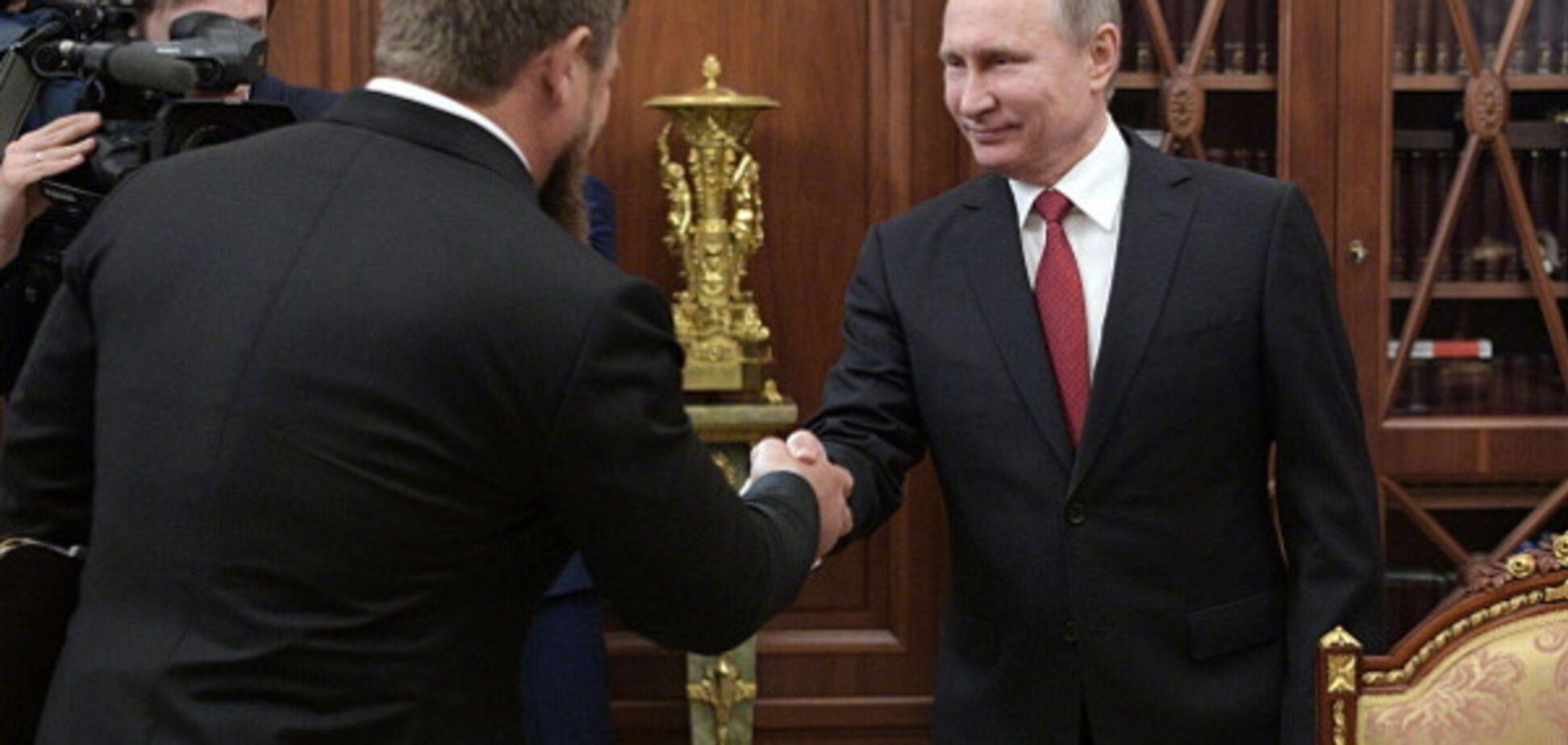 Володимир Путін, Рамзан Кадиров