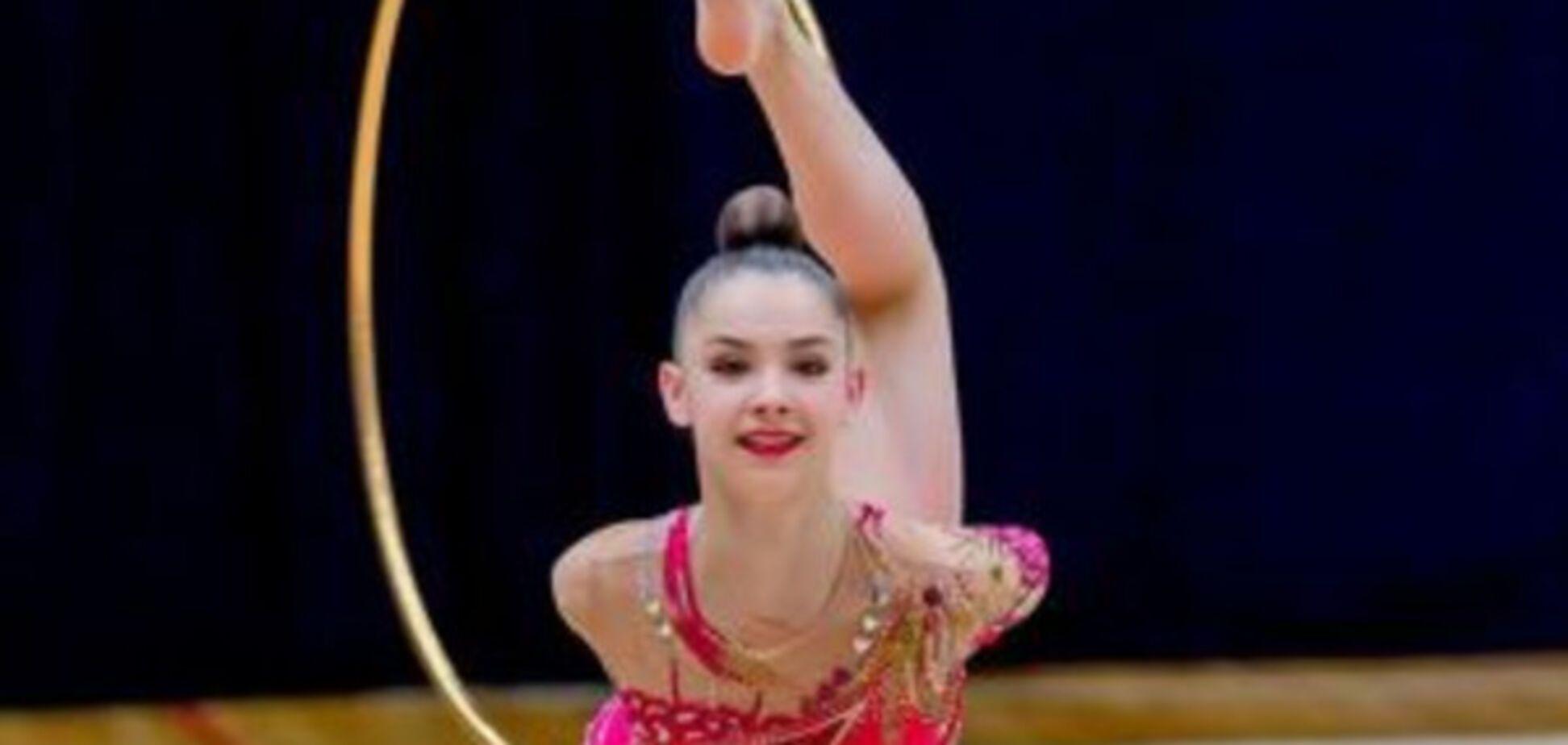 Українська гімнастка завоювала чотири золотих медалі на міжнародному Кубку