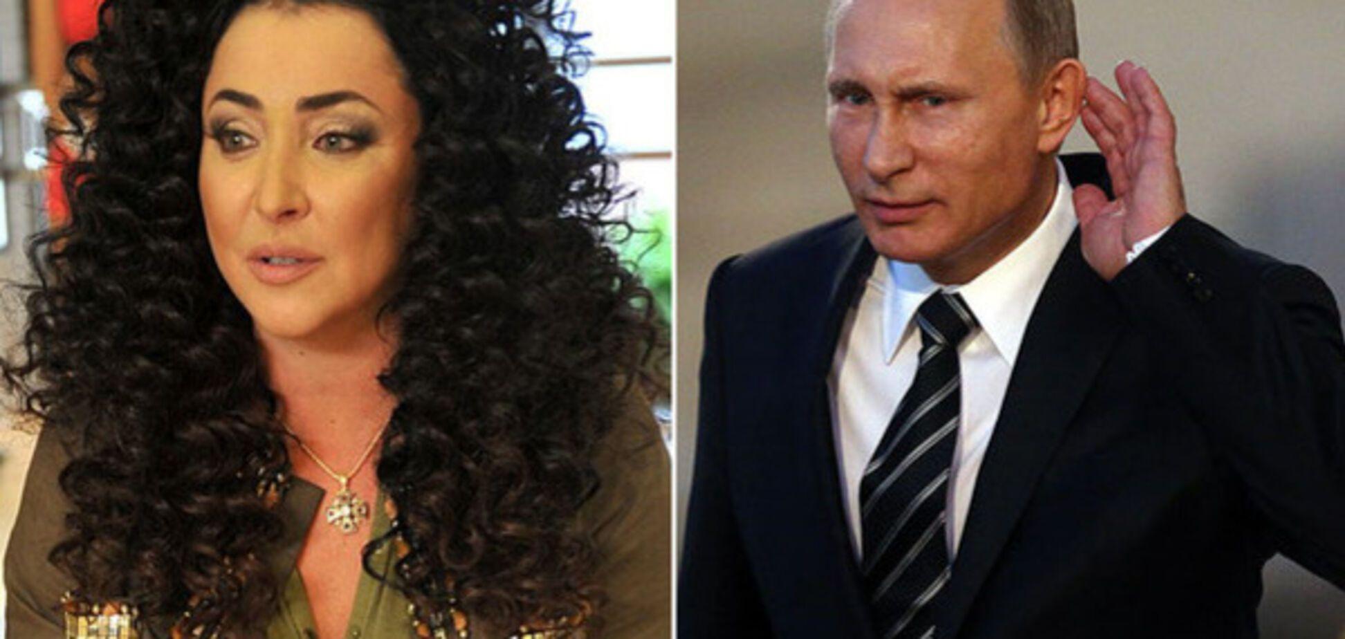 Лоліта Мілявська і Володимир Путін